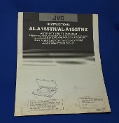JVC AL A155 Turntable Instruction Manual