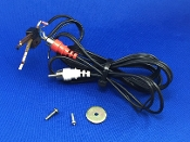 Kenwood KD 1600 Turntable Phono Cables
