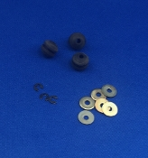 Dual 1264 Turntable Rubber Motor Mounts
