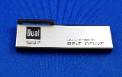 Dual 1237 Turntable Model Nameplate