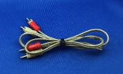 Dual 1009 Turntable Audio Patch Cord