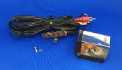Kenwood KD 2100 Turntable Audio Patch Cord