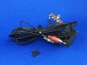 Kenwood KD 1033 Turntable Phono Cables