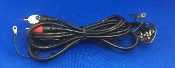 Technics SL 1200 MK II Turntable Audio Patch Cord