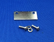 Sony PS 222 Turntable Dustcover Lid Hinge Backing Plates