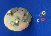 Yamaha YP 211 Turntable Main Gear
