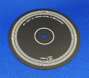 JVC L A55 Turntable Calibration Ring