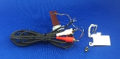 Technics SL D212 Turntable Phono Cables