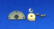 Technics SL 1300 Turntable Platter Gear Assembly