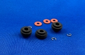 Yamaha YP B4 Turntable Rubber Motor Mounts